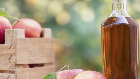 Vinagre de manzana sin filtrar ni pasteurizar