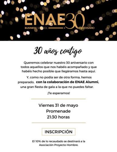 Invitación 30 aniversario móvil